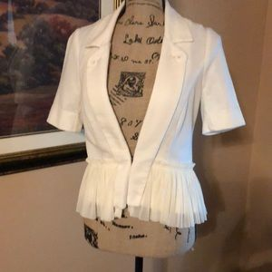 Free People ivory colored jacket, size 8